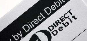 Direct debit conversion